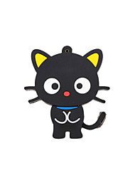 cheap -Cartoon New Black Cute Cat USB 2.0 Memory Flash Stick Pen Drive 16GB