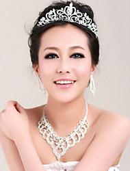 Acrylic Tiaras Headpiece Wedding Party Elegant Classical Feminine Style