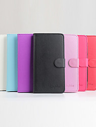 For DOOGEE Case Wallet / Card Holder / with Stand / Flip / Magnetic Case Full Body Case Solid Color Hard PU Leather DOOGEE