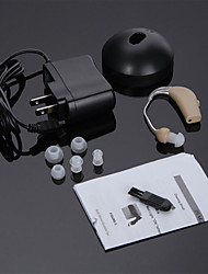 cheap -High Quality Rechargeable Hearing Aids Audiphone Sound Amplifier Adjustable Tone US Adapter