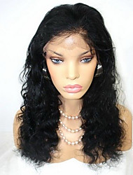 "cheap -8""-26"" Brazilian Virgin Hair  Human Hair Lace Wigs Wavy Lace Wigs"