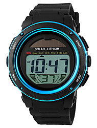 cheap -SKMEI® Men's Solar Battery LCD Digital Sport Watch Fashion Sporty Stopwatch Cool Watch Unique Watch