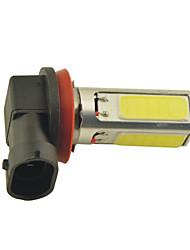preiswerte -carking ™ h8 / H11 15W 3 * Pfeiler geführte 600ml Weißlichtnebellampe (DC 12V)