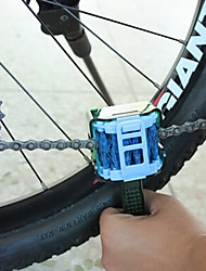 cheap -Chain Cleaner Brush Portable Recreational Cycling / Fixed Gear Bike / Mountain Bike / MTB PE Green