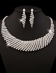 cheap -XIXI  Women Latest Fashion Alloy Rhinestone Imitation Pearl Necklace/Earrings Sets