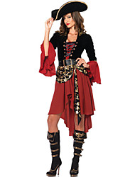 cheap -Cosplay Costumes/Party Costumes Cool/Retro Halloween Female Pirate Costumes