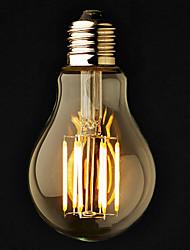 economico -e26 / e27 ha portato le lampadine del globo a60 (a19) 6 cob 600lm bianco caldo 2800-3200k dimmable ac 220-240 ac 110-130v