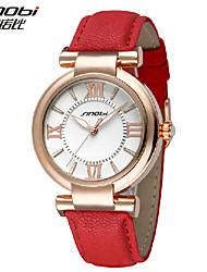Недорогие -золотой случай SINOBI женщин Кварцевые аналоговые наручные часы (разных цветов)