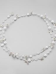abordables -imitación perla rhinestone aleación headbands headpiece estilo elegante
