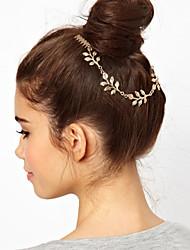 Недорогие -сплав волосы гребень головной цепи головной убор классический женский стиль