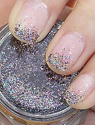 Colourful Glitter Powder Nail Art Decorations