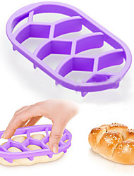 cheap -Ningbo Easybaking Bakeware Homemade Bread Rolls Brioche Mold Pan Braid Line Delicia Mould Kitchen Pastry Baking Tools