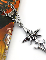 Jewelry Inspired by Fate/stay night Saber Anime/ Video Games Cosplay Accessories Necklace Silver Alloy / Resin Female