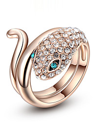 cheap -Women's Gold Plated Alloy Statement Ring - Fashion Ring For Wedding Party Anniversary Birthday Gift Daily Casual