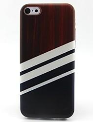 Недорогие -полоса телефона tpu случай случая телефона для iphone 5c iphone случаи