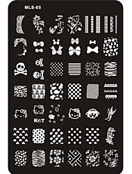 cheap -nail art Stamping Plate Other Decorations Abstract Classic Cartoon Lovely Wedding High Quality Daily