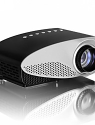 cheap -vivibright GP8S LCD Mini Projector 120 lm Support 720P (1280x720) 18-150 inch Screen