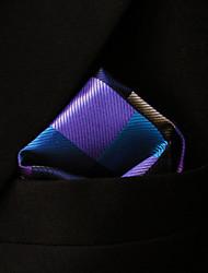 ih28 shlax&Flügel überprüft blau, rosa, braun Taschentücher Herren Krawatten hanky