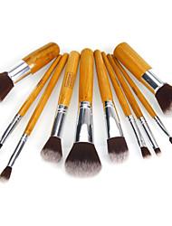 cheap -10 Makeup Brush Set Nylon Eco-friendly High Quality Daily Eco-friendly High Quality Classic