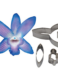 cheap -FOUR-C Dendrobium Orchid Petal Flower Cutter, Cake Decorating Tools Fondant Mold Cutter Cookie Accessories Tools