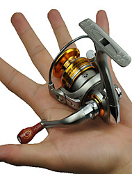 economico -Mulinelli da pesca Mulinelli per spinning 5.2:1 5 Cuscinetti a sfera IntercambiabilePesca di mare Pesca dilettantistica Lenze trainate &