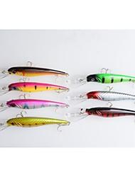 billige -7 Stk. Elritse Krumtap Blink Krumtap Elritse Hård Plastik Havfiskeri Ferskvandsfiskere Flue Fiskeri