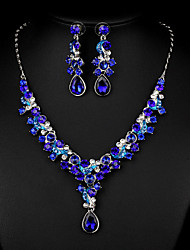 cheap -Women's Others Jewelry Set Earrings / Necklace - Regular Multicolor / Golden / Nine red For Wedding / Party / Special Occasion