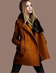 DONNE - Giacche e cappotti - Vintage Scollo a V - Maniche lunghe Poliestere