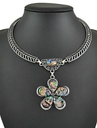 Недорогие -большие смолы подвески ожерелья кожа цепи ожерелья элегантный стиль