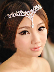 cheap -Alloy Head Chain 1 Wedding Special Occasion Headpiece