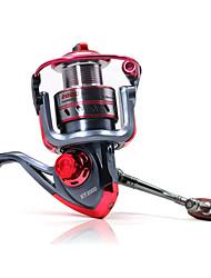 abordables -Moulinet pour pêche Moulinet spinnerbaits 5.2:1 11 Roulements à billes Echangeable Pêche d'appât Pêche sur glace Pêche aux spinnerbaits