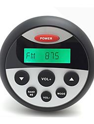 billiga -h-808 vattentät mp3 & FM / AM-radio cd stereo spelare med bluetooth-funktionen forgolf kund