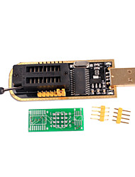 abordables -ch341a programador usb placa base enrutamiento bios lcd flash 24 25 quemador