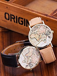 Fashion World Map Watch Relogio Feminino Women Watches Quartz Watches Reloj Mujer Cool Watches Unique Watches Strap Watch