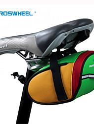 cheap -Rosewheel Bike Bag 0.8L Bike Saddle Bag Waterproof Waterproof Zipper Wearable Shockproof Bicycle Bag 600D Polyester Cycle Bag Camping /