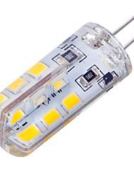 baratos -YWXLIGHT® 2.5W 200lm G4 Lâmpadas Espiga T 24 Contas LED SMD 2835 Regulável Branco Quente Branco Frio 12V