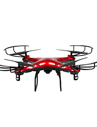 cheap -RC Drone X6SW 4CH 6 Axis 2.4G With HD Camera RC Quadcopter FPV / Access Real-Time Footage / With Camera RC Quadcopter / Remote Controller
