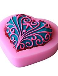 povoljno -kalupa za pečenje Čokoladno smeđa Pita Torta/kolači Silikonska guma Eco-friendly Visoka kvaliteta 3D