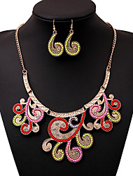 MPL Europe and the United States of Bohemia color beads necklace earrings set