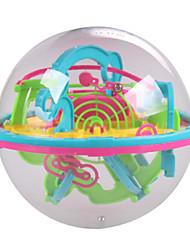Недорогие -Новый мини 3D лабиринт магический шар 100 уровень интеллекта мяч образование детей-головоломка игрушки орбита игра интеллекта от подарок