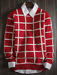 cheap -Men's Striped Pullover , Knitwear Long Sleeve