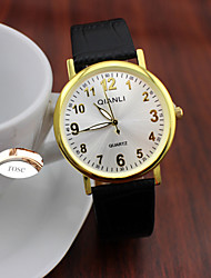 cheap -Personalized Gift Minimalist Fashion Lady Leather Rhinestone  Watch