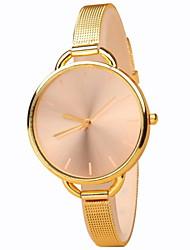 cheap -Women's Quartz Wrist Watch Hot Sale Alloy Band Elegant Fashion Silver Gold