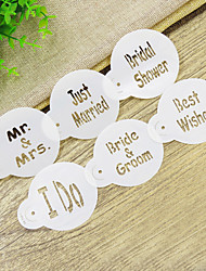 cheap -Decorating Stencil For Ice /Cake /Cookie /Cupcake /Pie /Pizza,Wedding Lettering Cupcake Stencil Set