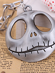 cheap -Women's Pendant Necklace - Skull Personalized, Vintage, Fashion Gray, Brown Necklace For Halloween