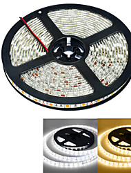 cheap -JIAWEN® Waterproof 5M 300-5050 SMD 4800lm 3000-3200K / 6000-6500K Warm White / white Light LED Strip Light  (DC12V /5M)