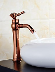 American Standard Widespread Single Handle One Hole in Rose Gold Bathroom Sink Faucet