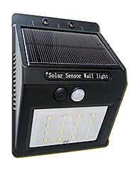 cheap -16Led Solar Panel Powered Motion Sensor Lamp Outdoor Light Garden Security Light