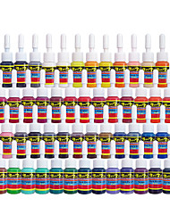 cheap -Solong Tattoo Inks 54 Colors Set 5ml/Bottle Tattoo Pigment Kit