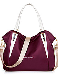 Women Bags All Seasons PU Shoulder Bag Tote with for Shopping Casual Formal Office & Career Black Purple Fuchsia Blue Wine